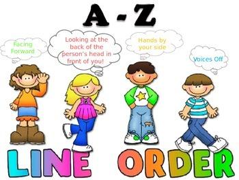 Line Order Poster