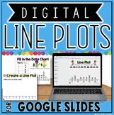 Line Plot Activities in Google Slides