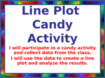 Line Plot Candy Activity