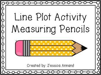 Line Plot Measuring Pencils