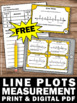 FREE Download Line Plots Task Cards 2nd Grade Common Core