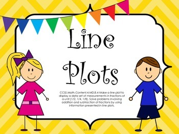 Line Plots-Task Cards, Printables, QR Codes and More