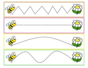 Line Practice for Kindergarten