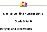 Common Core-Building Number Sense Grd 6 Card Set Integers