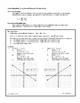 Linear Equations Formulas and Diagrams Review Sheet