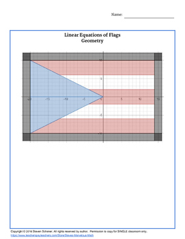 Linear Equations of Flags - Algebra 1