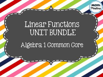 Linear Functions Unit Bundle