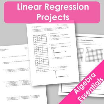 Linear Modeling Projects!