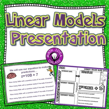 Linear Models Presentation 8.SP.A.3