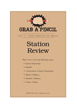 Linear Momentum and Impulse Station Review