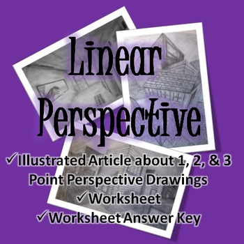Linear Perspective: Article and Worksheet