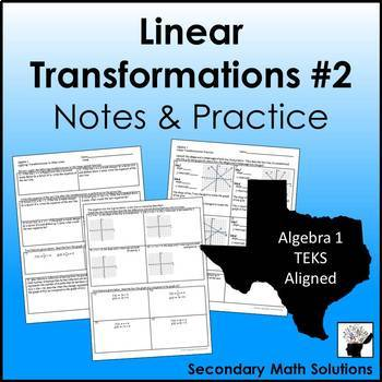 Linear Transformations Practice