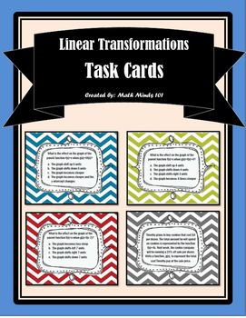 Linear Transformations Task Cards
