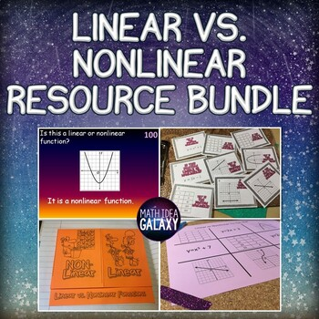 Linear and Nonlinear Functions Activities and Games