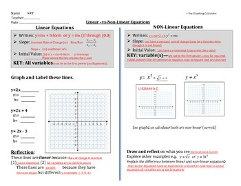 Linear-vs-Non-Linear Equations