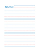 Lined Paper Pack (Primary Grades)