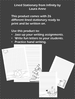 Lined Stationary