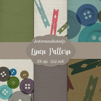 Linen Pattern Digital Scrapbooking Paper, commercial use, 300 dpi
