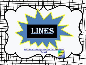 Lines, Line Segments & Points