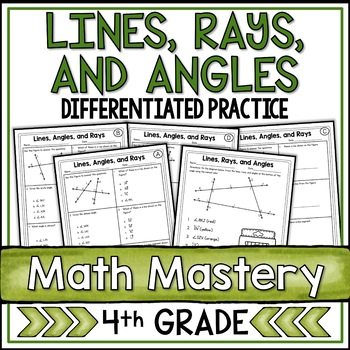 Lines, Angles, and Rays  (4th Grade Common Core Math: 4.G.1)