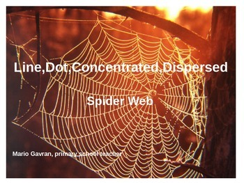 Lines, Dots, Concentrated, Dispersed