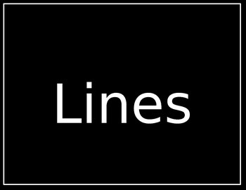 Lines Elements of Design Visual Arts Powerpoint