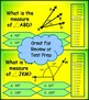 Lines, Rays, and Measuring Angles Millionaire Game 4th Grade