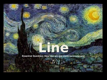 Elements of Art: Line Mini-Lesson PowerPoint