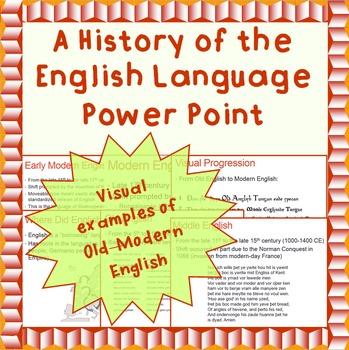 Linguistics: A History of the English Language - A Power P