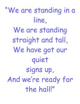 Lining Students Up Poster