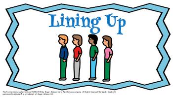 Lining Up