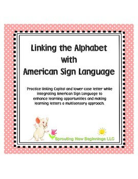 ASL Linking the Alphabet (American Sign Language)