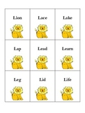 Lion /L/ Word Cards