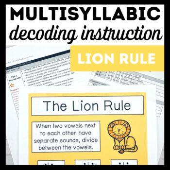 Lion Rule Book 8-Advanced Decoding Strategies