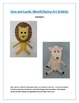 Lion and Lamb: Spring Art Activity
