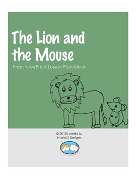Lion and the Mouse Lesson Plan Ideas