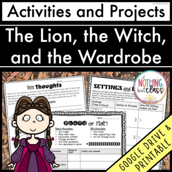 The Lion, the Witch, and the Wardrobe: Reading Response Ac
