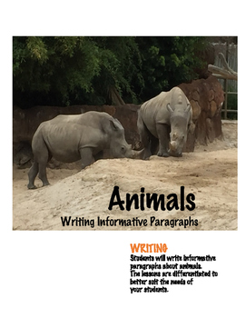 Writing Informative Paragraphs about Animals