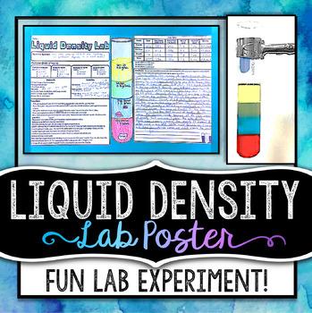 Liquid Density Lab - Poster
