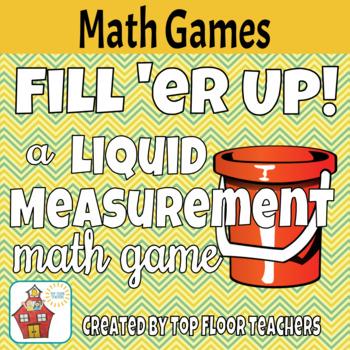 Liquid Volume & Capacity Measurement Conversion Game - Fre