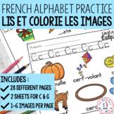Lis et colorie - l'alphabet (FRENCH Alphabet Read and Colour)