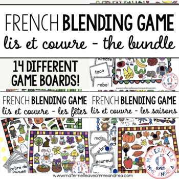 Lis et couvre - THE BUNDLE (FRENCH Read & Cover - blending