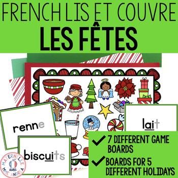 Lis et couvre - Un jeu pour la fusion - Les fêtes (FRENCH
