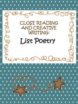 List Poetry