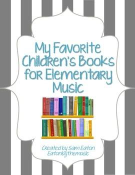 *FREEBIE* - Favorite Children's Books For Elementary Music -