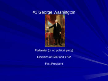 US Presidents in order - United State Presidents