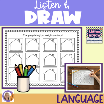 Listen & Draw: Auditory memory, directions and language concepts