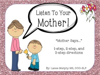 100 Follower FREEBIE - Listen To Your Mother!: 1, 2, & 3 S