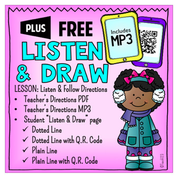 Listen and Follow Directions QR Code MP3
