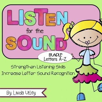 Letter Recognition and Letter Sound Recognition Bundle